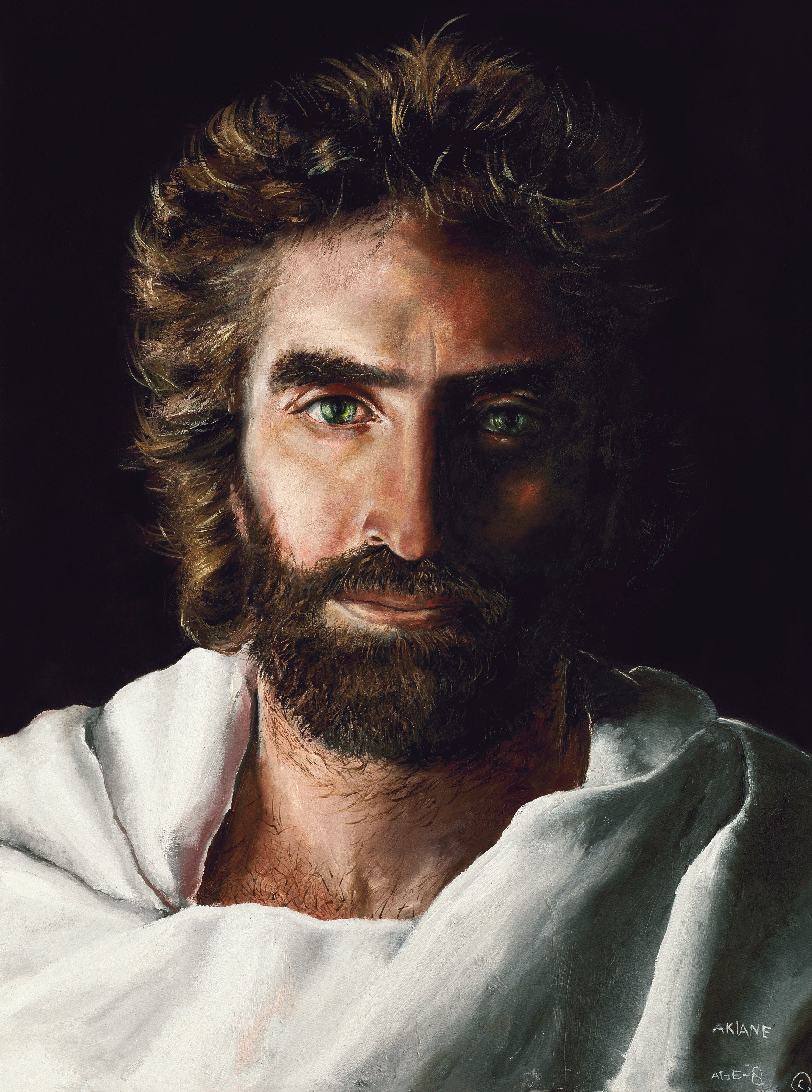 Image result for Akiane portrait of Prince of Peace