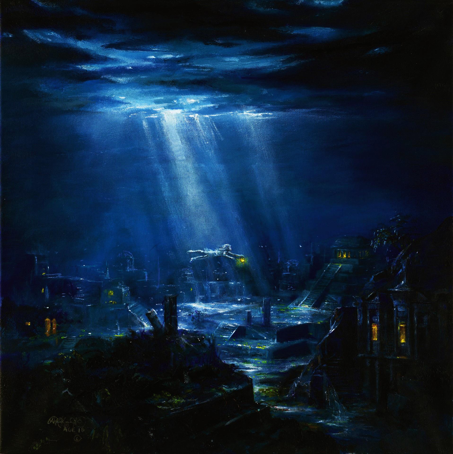 Akiane Kramarik Painting Pictures Of Heaven
