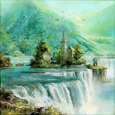 Turquoise Falls