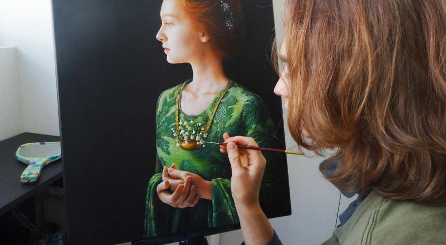 Akiane Kramarik, the woman artist whom God taught to paint