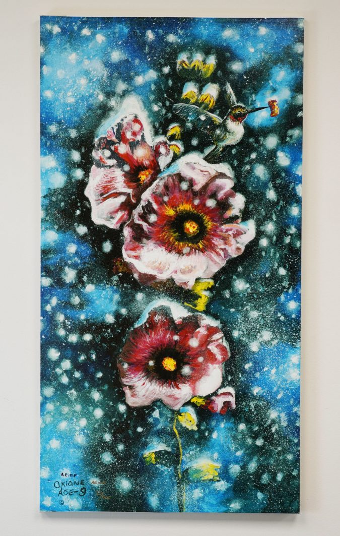 – Summer Snow – Signed Stretch Print